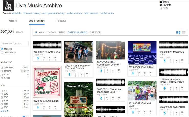 دانلود رایگان آهنگ در The Internet Archive