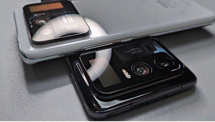 تصاویر اولیه گوشی هیجان انگیز می 11 اولترا با یک صفحه نمایش اضافه در پشت گوشی